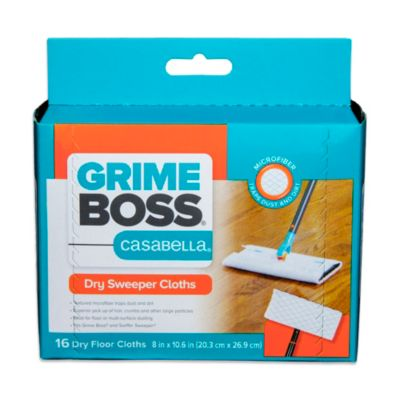 Grime Boss® 16-Count Premium Dry Sweeper Cloths
