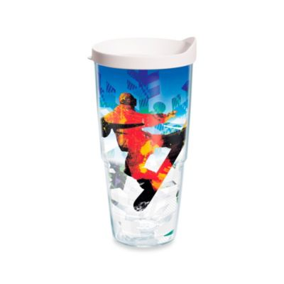 Tervis® Winter Sports Snowboarding 24-Ounce Wrap Tumbler with White Lid