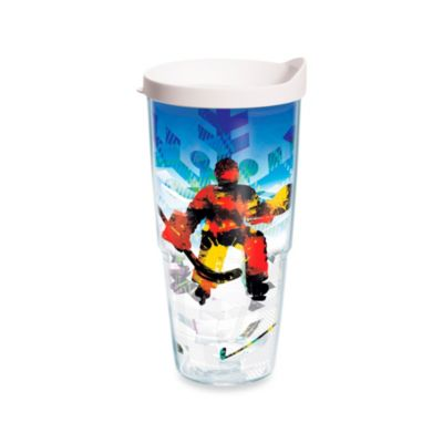 Tervis® Winter Sports Ice Hockey 24-Ounce Wrap Tumbler with White Lid
