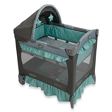 Graco 174 Travel Lite 174 Crib In Cascade Buybuy Baby