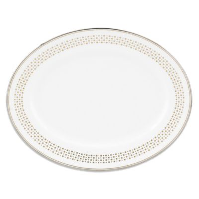 Lenox® kate spade new york Richmont Road 13-Inch Oval Platter
