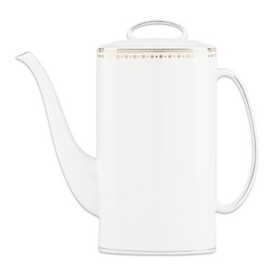 Lenox® kate spade new york Richmont Road 52-Ounce Coffee Pot with Lid