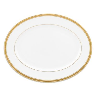 kate spade new york Oxford Place 13-Inch Oval Platter