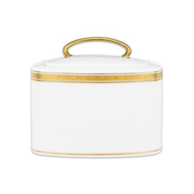 kate spade new york Oxford Place 6 1/3-Inch Sugar Bowl