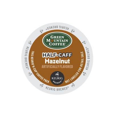 K-Cup® 18-Count Green Mountain Coffee® Half-Caff Hazelnut