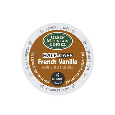 K-Cup® 18-Count Green Mountain Coffee® Half-Caff French Vanilla