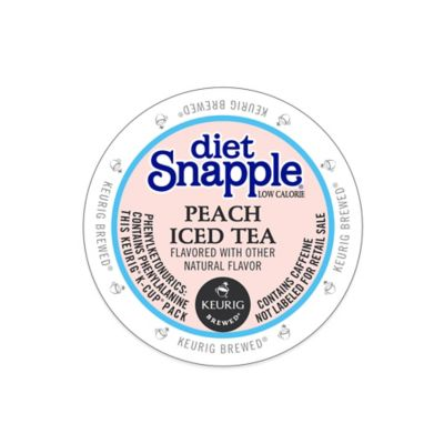 Keurig® K-Cup® Pack 16-Count Snapple® Diet Peach Iced Tea