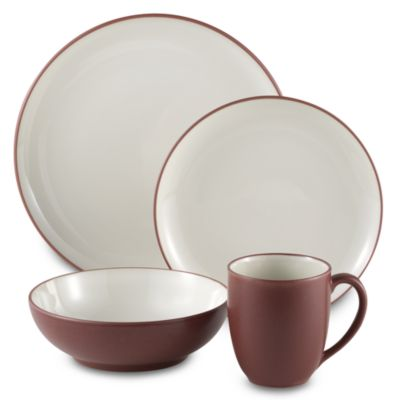 Noritake® Colorwave Raspberry 4-Piece Place Setting