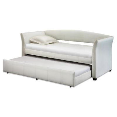 Roll Out Trundle Daybed in White