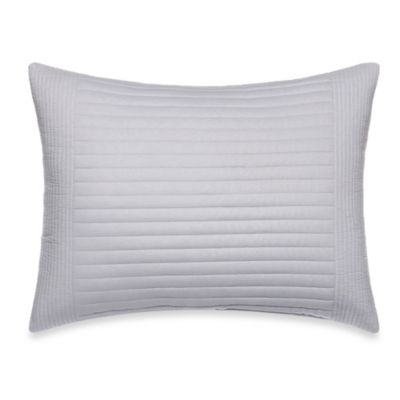Vera Wang Gossamer Floral Breakfast Oblong Toss Pillow in White