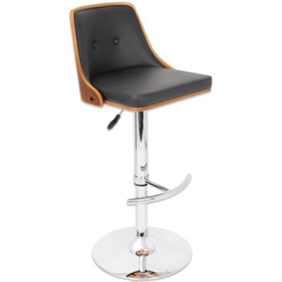 Lumisource Nueva Barstool in Black