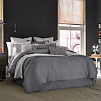 Kenneth Cole Reaction Home Mineral Linen/Cotton Duvet Cover in Gunmetal