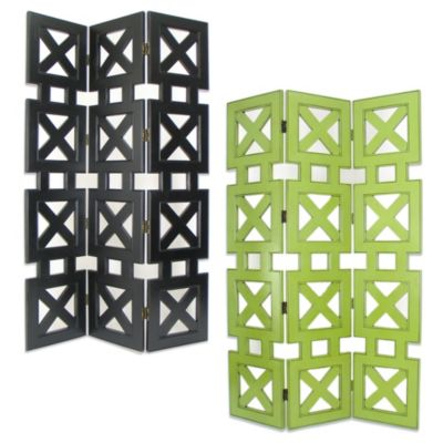 Hunter Wooden Decorative Room Divider/Screen