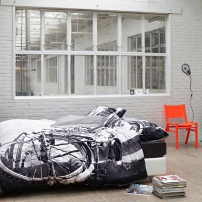 Serge King Reversible Duvet Cover Set