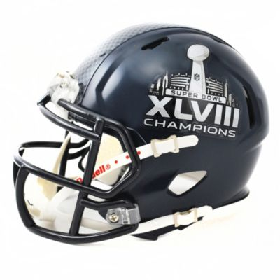 Riddell® NFL Seattle Seahawks Super Bowl XLVIII Champions Speed Mini-Helmet