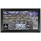 NFL Seattle Seahawks Super Bowl XLVIII Champions Celebration Signature Grid Photo Frame