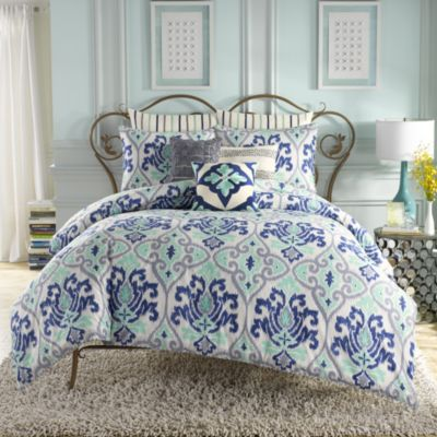 Anthology™ Jolie Comforter Set in Blue