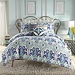 Anthology™ Jolie European Pillow Sham in Blue Stripe
