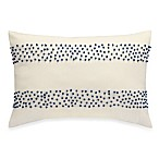 Anthology™ Jolie Oblong Toss Pillow in Blue/White