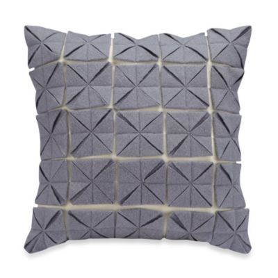 Anthology™ Jolie 14-Inch Square Throw Pillow in Blue