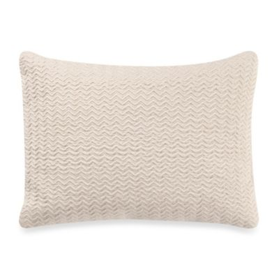 Vera Wang Violet Breakfast Oblong Toss Pillow in Ivory