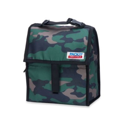 PackIt® Freezable Lunch Bag in Camo