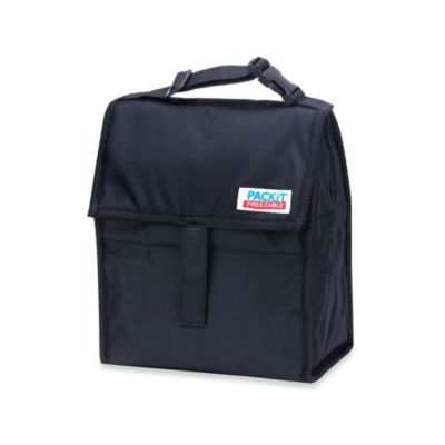 PackIt® Freezable Lunch Bag in Black