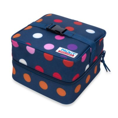 PACKiT® Salad Cooler Bag in Dots