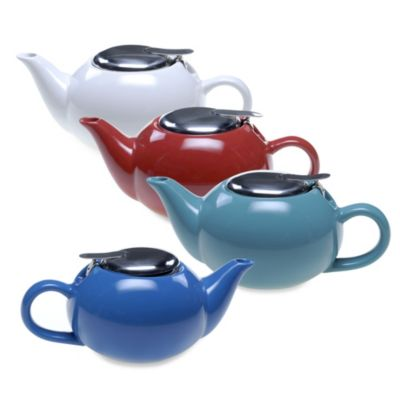 Certified International 17-Ounce Solid Teapot
