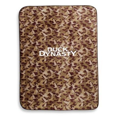Duck Dynasty® Fleece Blanket