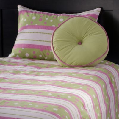 Bedding > Rizzy Home Riz Kids Comforter Bed Set in Green