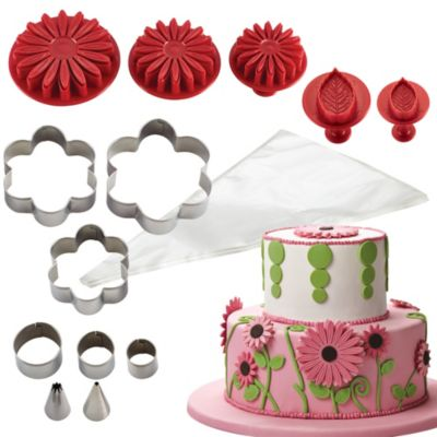 Cake Boss Flowers Cake Kit