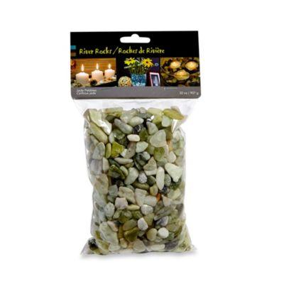 River Pebbles in Jade