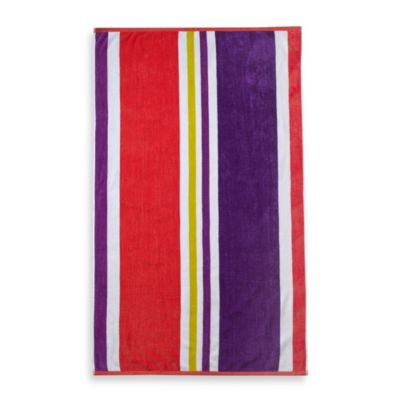 Cabana Stripe Beach Towel in Multi