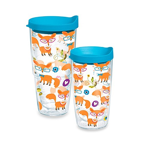 Tervis® Whimsical Fox Wrap Design Tumbler with Lid