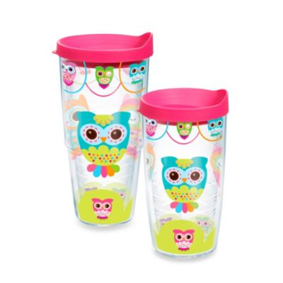 Tervis® 24-Ounce Whimsical Trendy Owl Wrap Design Tumbler with Lid