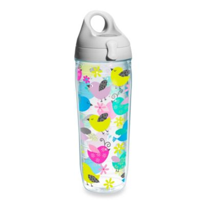 Whimsical Birds 24-Ounce Wrap Water Bottle