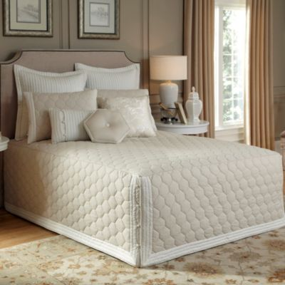 Nostalgia Home® Lexington Twin Fitted Bedspread in Taupe