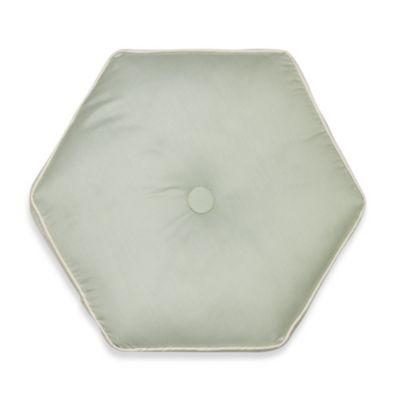 Nostalgia Home® Lexington Hexagon Round Toss Pillow in Green