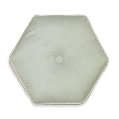 Nostalgia Home® Lexington Hexagon Round Throw Pillow in Green