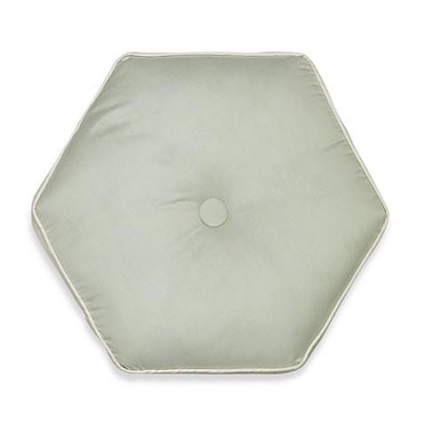 Buy Nostalgia Home Lexington Hexagon Round Throw Pillow in Green from Bed Bath & Beyond