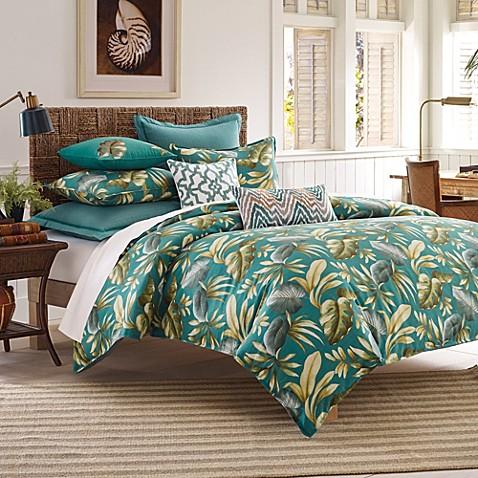 Tommy Bahama 174 Paradise Palm Duvet Cover And Sham Set Bed