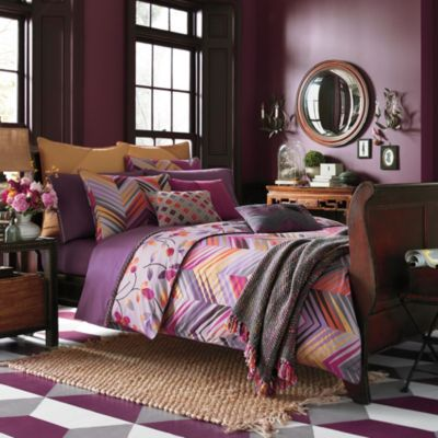 Collier Campbell Ziggurat Reversible Duvet Cover