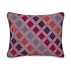 Collier Campbell Ziggurat Diamond Geo Oblong Toss Pillow