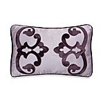 Jolie Decorative 20-Inch Oblong Toss Pillow in Purple
