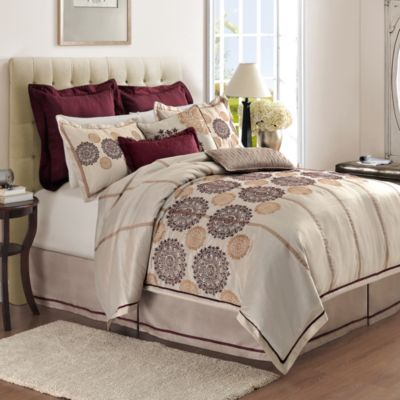 Colette 4-Piece California King Comforter Set