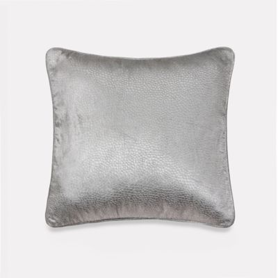 Vienna Mixed Animal Print Decorative 18-Inch Square Throw Pillow in Light Grey
