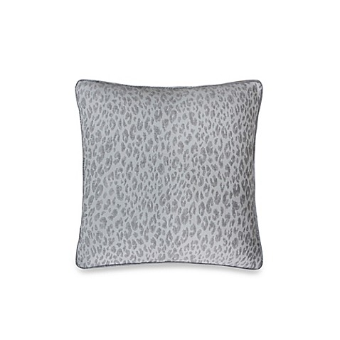 Animal Light Pillows : Vienna Mixed Animal Print Decorative 20-Inch Square Throw Pillow in Light Grey - Bed Bath & Beyond