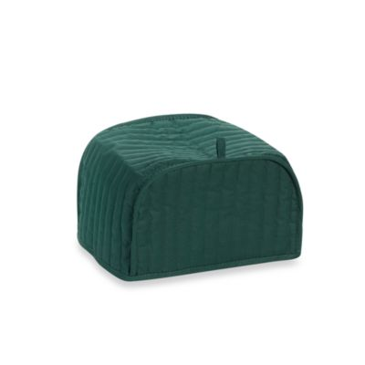 Green Four-Slice Toaster Cover