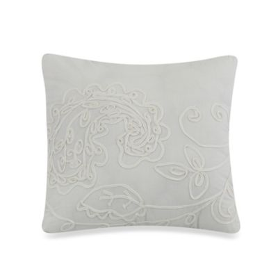 Dena™ Home Morning Dove Floral 16-Inch Square Toss Pillow